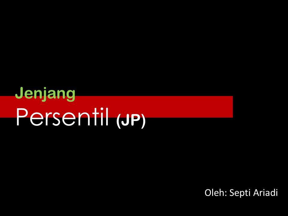 Jenjang Persentil (JP) Oleh: Septi Ariadi