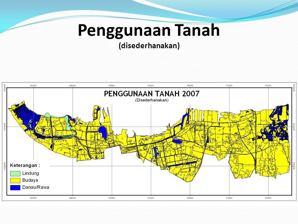 PANTAUAN CURAH HUJAN BULANAN DKI JAKARTA Periode 1990-2003 Peristiwa banjir besar tahun 1996 dan tahun 2002 sangat dipengaruhi faktor tingginya curah hujan bulanan DKI Jakarta yang mencapai lebih dari 650 mm/hari LATAR BELAKANG