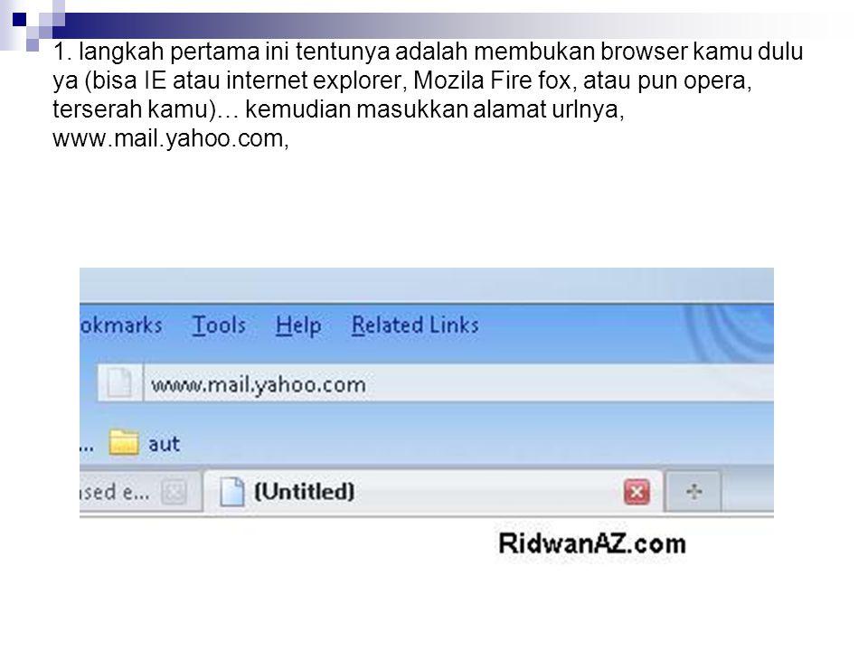 7.cara mengirim email, untuk cara mengirim email.