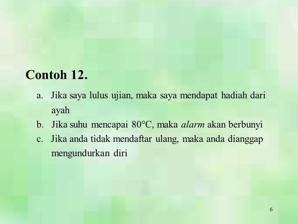 27 Bikondisional (Bi-implikasi)