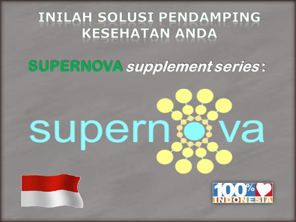 SUPERNOVA supplement series :