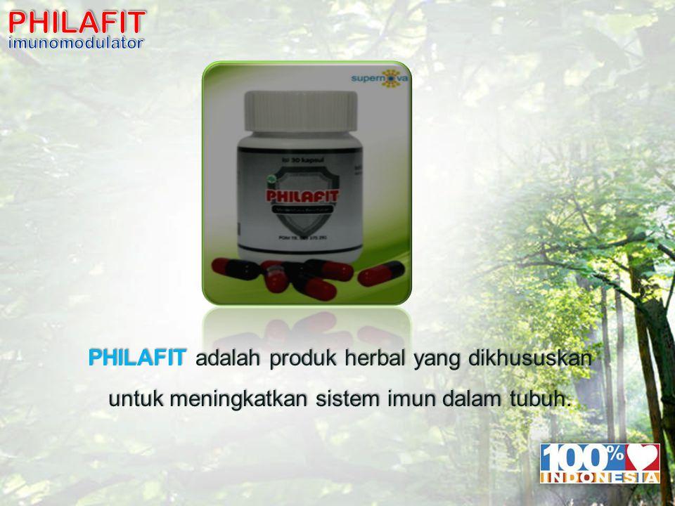 10 PHILAFIT adalah produk herbal yang dikhususkan untuk meningkatkan sistem imun dalam tubuh.