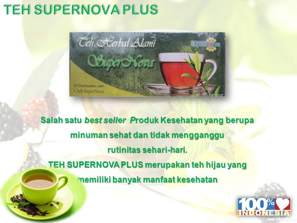 Salah satu best seller Produk Kesehatan yang berupa minuman sehat dan tidak mengganggu rutinitas sehari-hari.