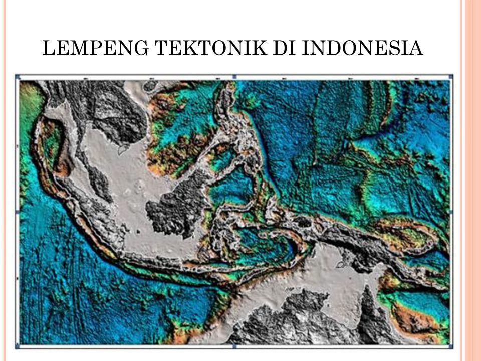 LEMPENG TEKTONIK DI INDONESIA
