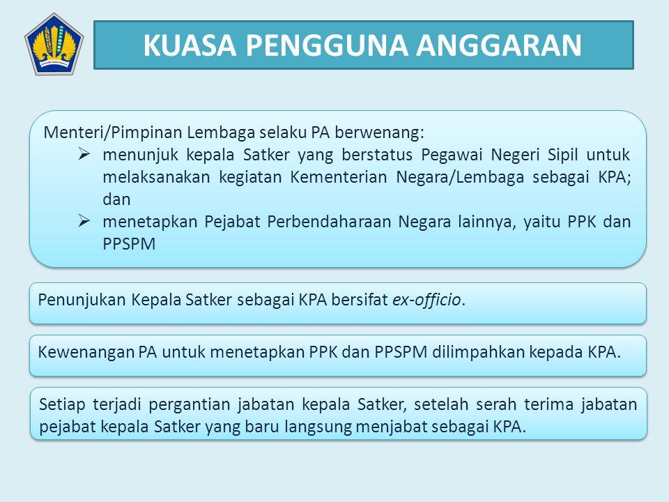 1.Bendahara Pengeluaran/BPP melakukan pembayaran atas UP berdasarkan Surat Perintah Bayar (SPBy) yang dilampiri bukti2 pengeluaran yang disetujui dan ditandatangani oleh PPK.
