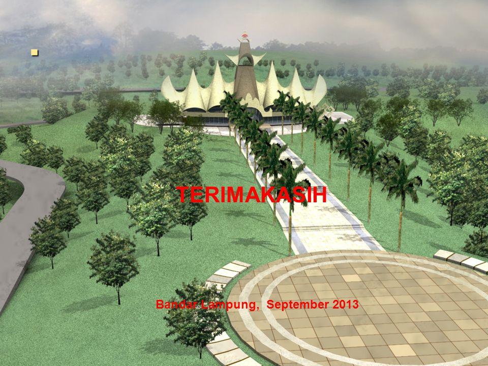 TERIMAKASIH Bandar Lampung, September 2013.
