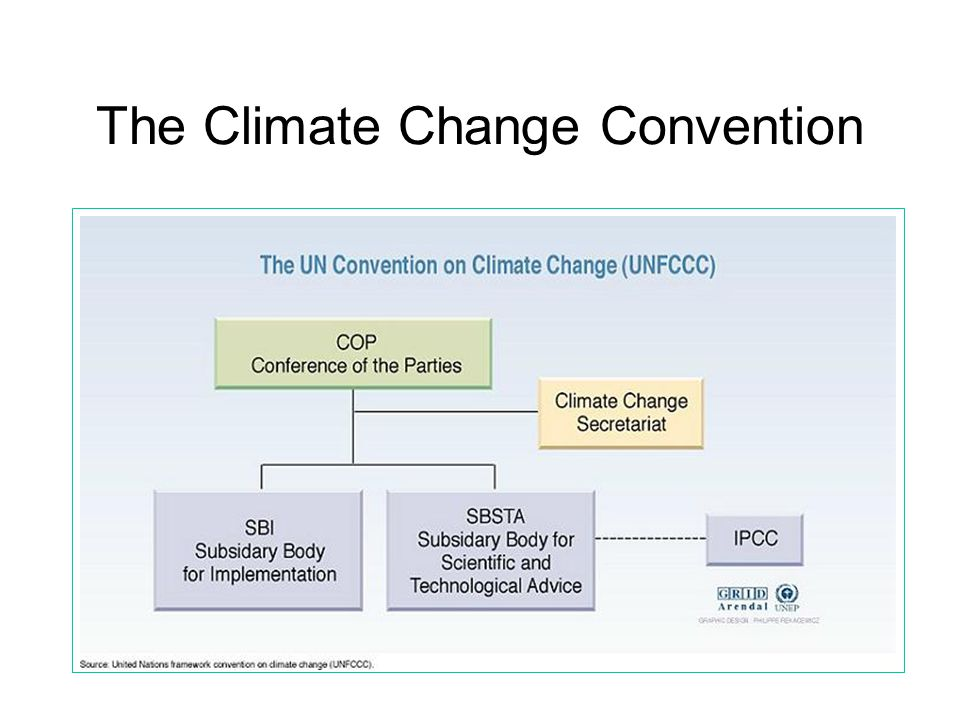 The Climate Change Convention