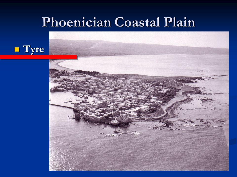 Phoenician Coastal Plain  Tyre