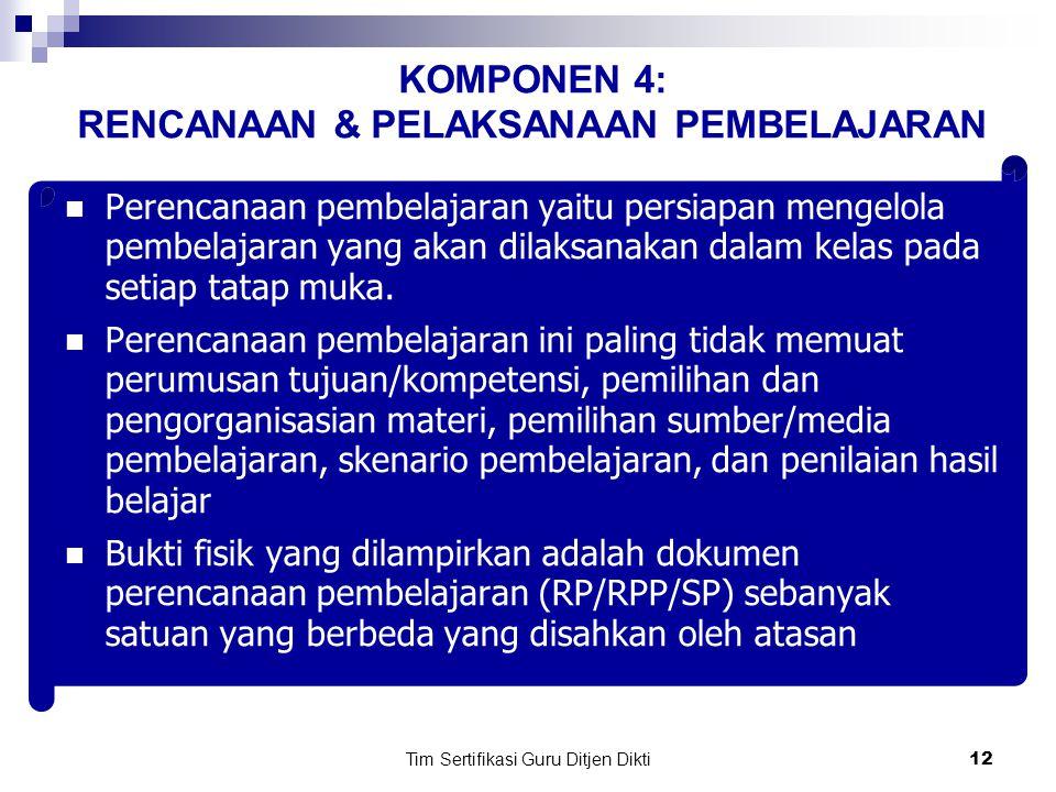 Tim Sertifikasi Guru Ditjen Dikti11 NO.NAMA SEKOLAHBID STUDI / GURU KLSLAMA MENGAJAR (Mulai th…..
