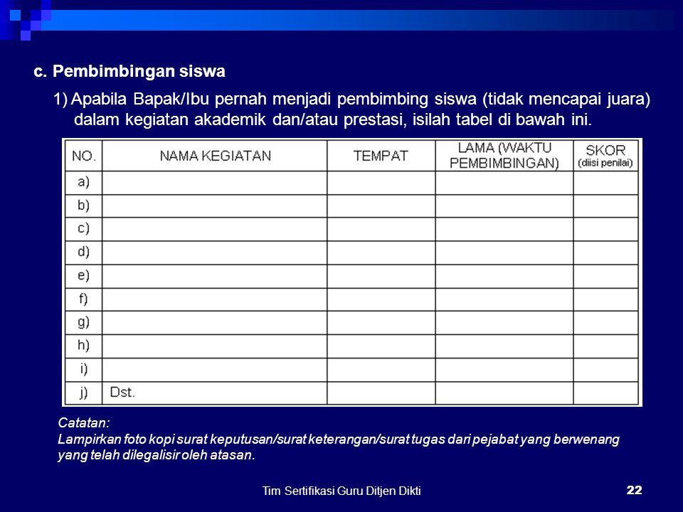 Tim Sertifikasi Guru Ditjen Dikti21 c.