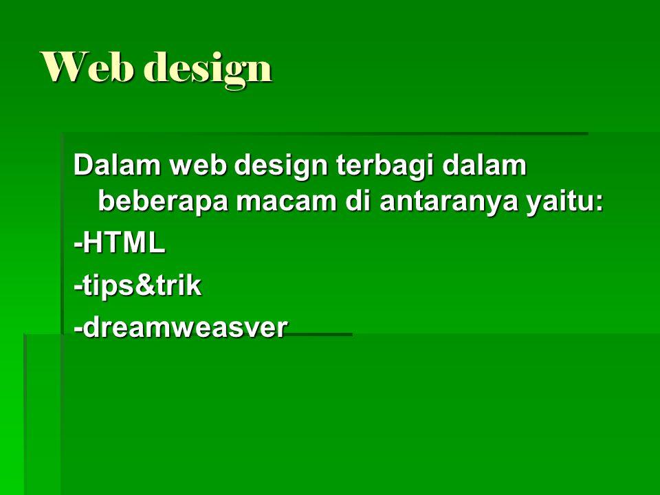  HTML Bagian-bagian dalam HTML di antaranya yaitu: 1.Struktur HTML  HTML (Hypert Text Markup Language) merupakan bahasa pemrograman yang digunakan dalam pembuatan halaman web.