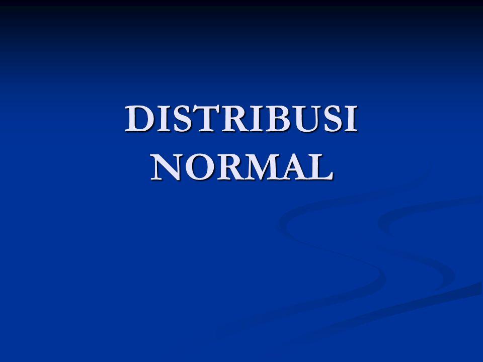 Pendahuluan Dalam suatu distribusi data ada 3 jenis kemiringan, yaitu miring ke kiri, simetris dan miring ke kanan seperti gambar berikut : c.