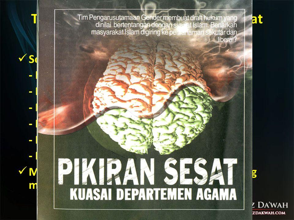 Program ke-Islaman AS di Indonesia (4 Mei 2007) Dalam usaha menjangkau masyarakat Muslim, Amerika Serikat mensponsori para pembicara dari lusinan pesantren, madrasah serta lembaga- lembaga pendidikan tinggi Islam, untuk bertukar pandangan tentang pluralisme, toleransi dan penghargaan terhadap Hak Asasi Manusia.