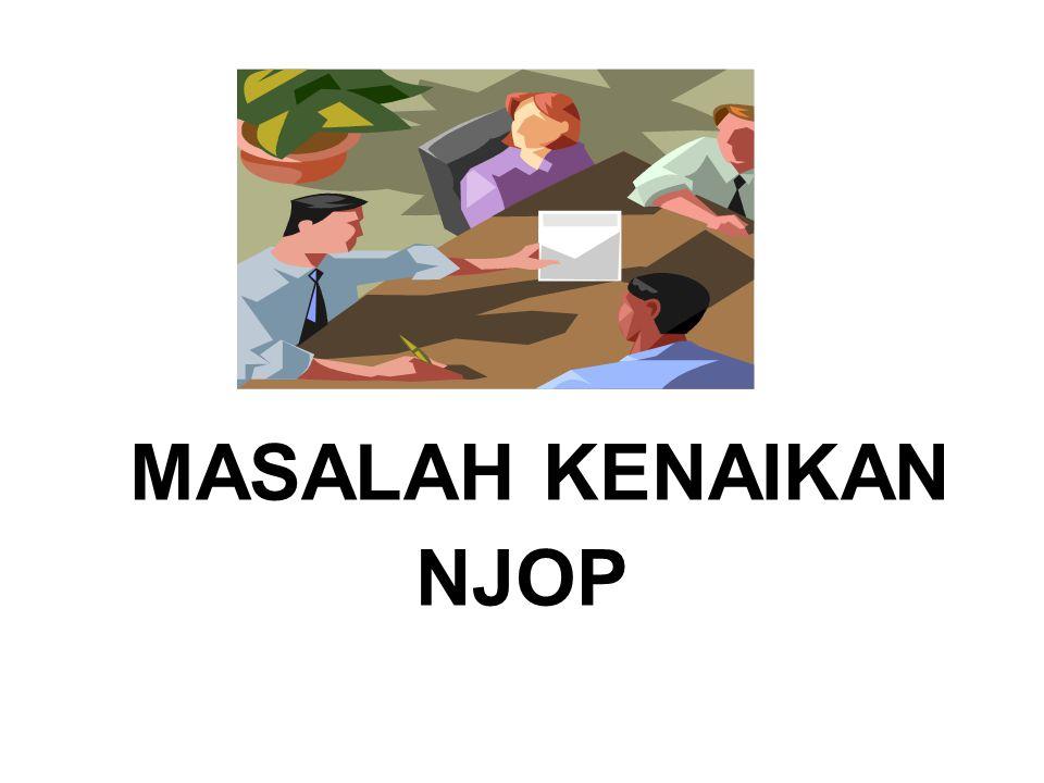 MASALAH KENAIKAN NJOP
