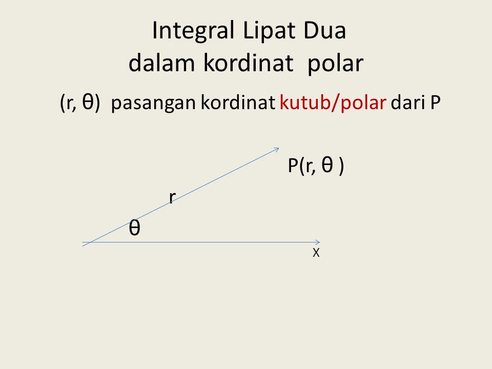 INTEGRAL LIPAT DUA DALAM KORDINAT POLAR/KUTUB 23092013