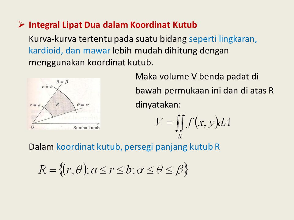 Lingkaran berpusat di (0,0) • Kordinat Cartesian  x² + y² = a² • Kordinat Polar/ kutub  r = a Y a X