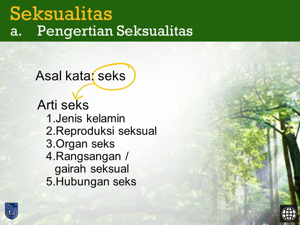 Seksualitas a.