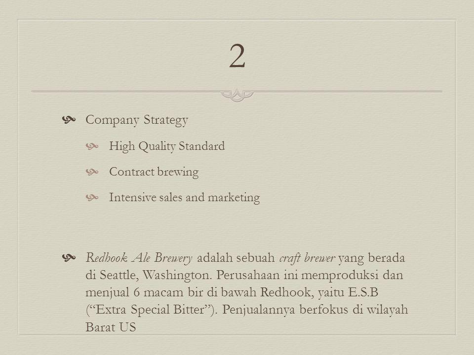  Pete's Brewing Company adalah perusahaan terbesar kedua dan pertumbuhan tercepat di bidang craft brewer di US.