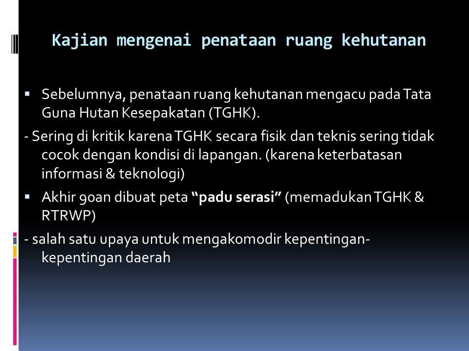  Dengan berlakunya UU 32/2004, kabupaten kini diwajibkan kembali untuk menyampaikan rancangan materi RTRW mereka kepada provinsi untuk dievaluasi ole