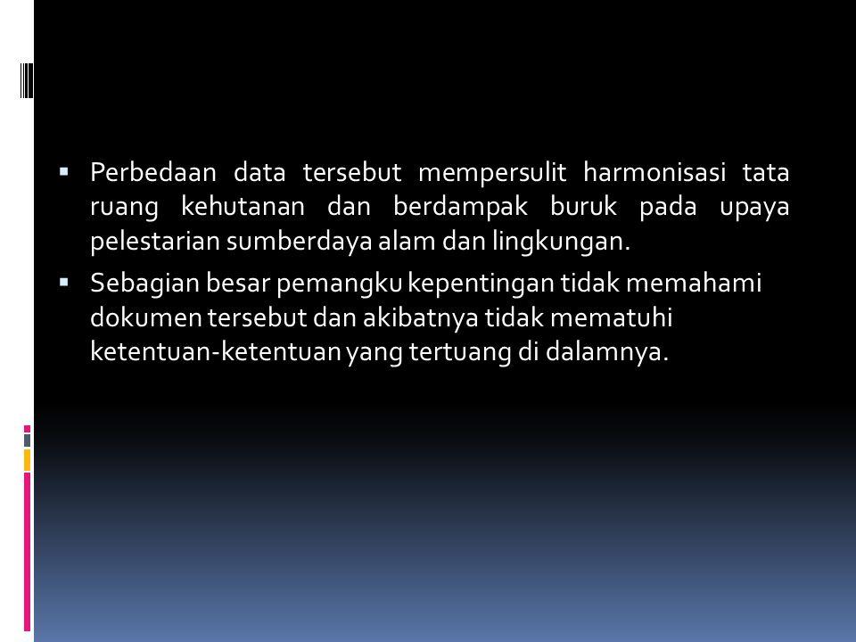 Tata Ruang Kehutanan Luwu Utara versi Dinas Tata Ruang Provinsi Peta kawasan hutan Kabupaten Luwu Utara versi Dinas Tata Ruang dan Pemukiman Provinsi