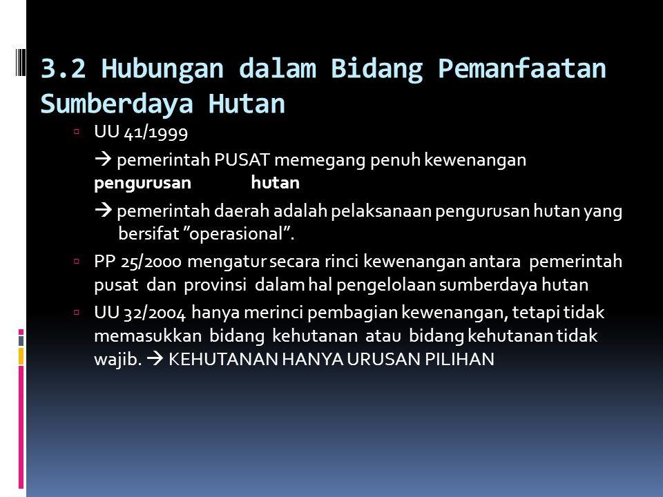 BAB 3. Perubahan Kebijakan Otonomi Daerah  3.1 Apa yang Berubah?  UU No. 22/1999  PUSAT memberikan kewenangan kepada pemerintahan provinsi sebagai