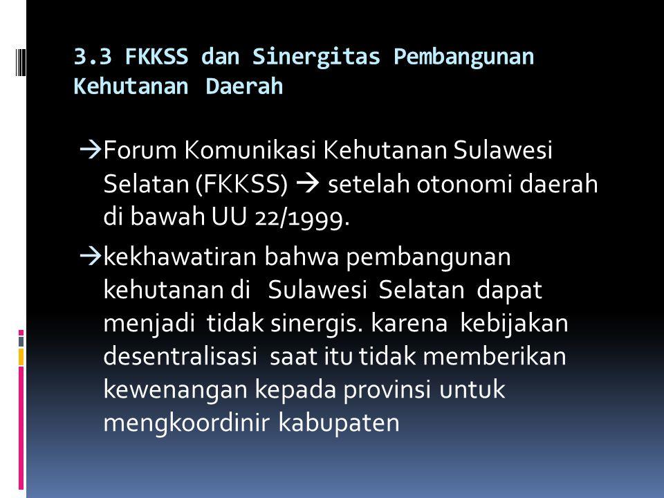 3.2 Hubungan dalam Bidang Pemanfaatan Sumberdaya Hutan  UU 41/1999  pemerintah PUSAT memegang penuh kewenangan pengurusan hutan  pemerintah daerah