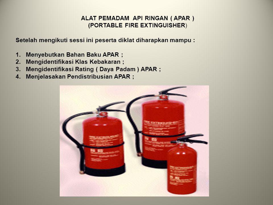 Selain itu kapasitas persedian air juga ditentukan dengan waktu pemakaian air kebakaran minimal, dalam menit yaitu sebagai berikut : Dengan persyarata