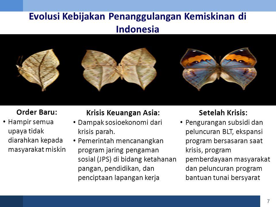 18 OUTLINE • Kondisi Kemiskinan di Indonesia • Program Penanggulangan Kemiskinan dan Perlindungan Sosial di Indonesia • Tantangan yang dihadapi • Isu Kebijakan Lainnya
