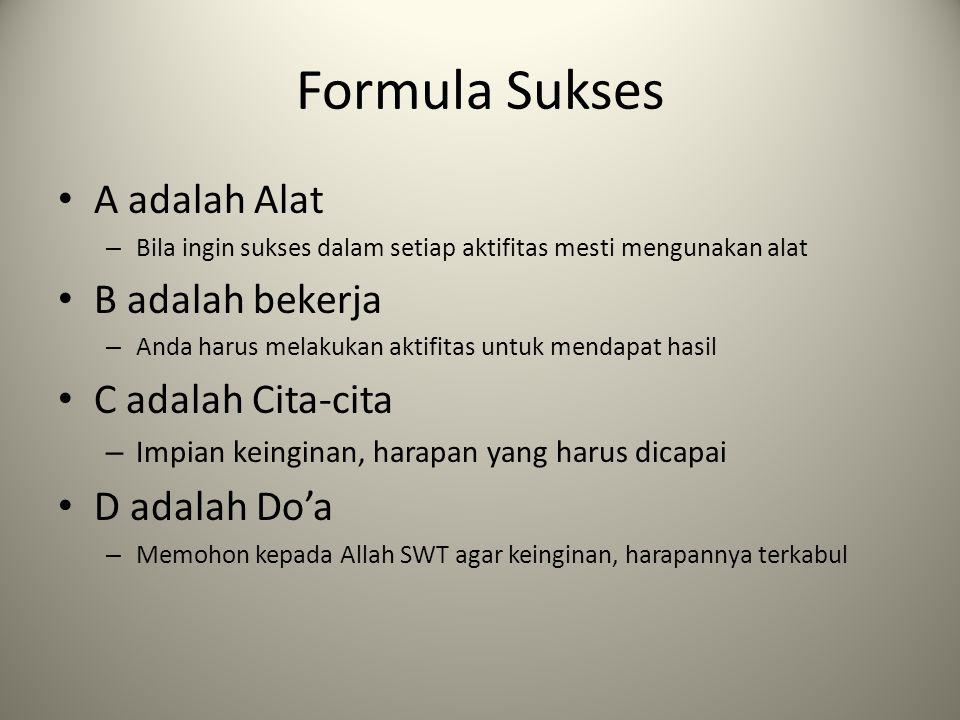 Formula Sukses