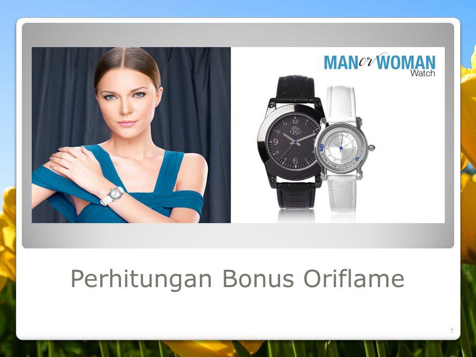 Perhitungan Bonus Oriflame 7