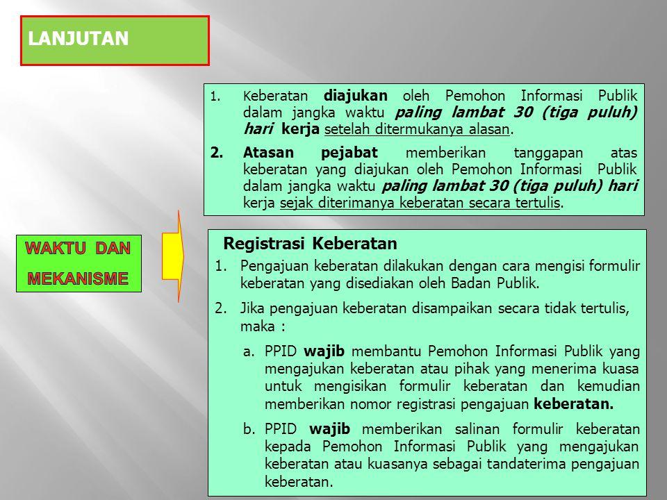 PERMOHONAN PSI PADA KI Ps.37 (2) UU jo. Ps. 6 PERKI KELENGKAPAN BERKAS PERMOHONAN DIREGISTER Ps.
