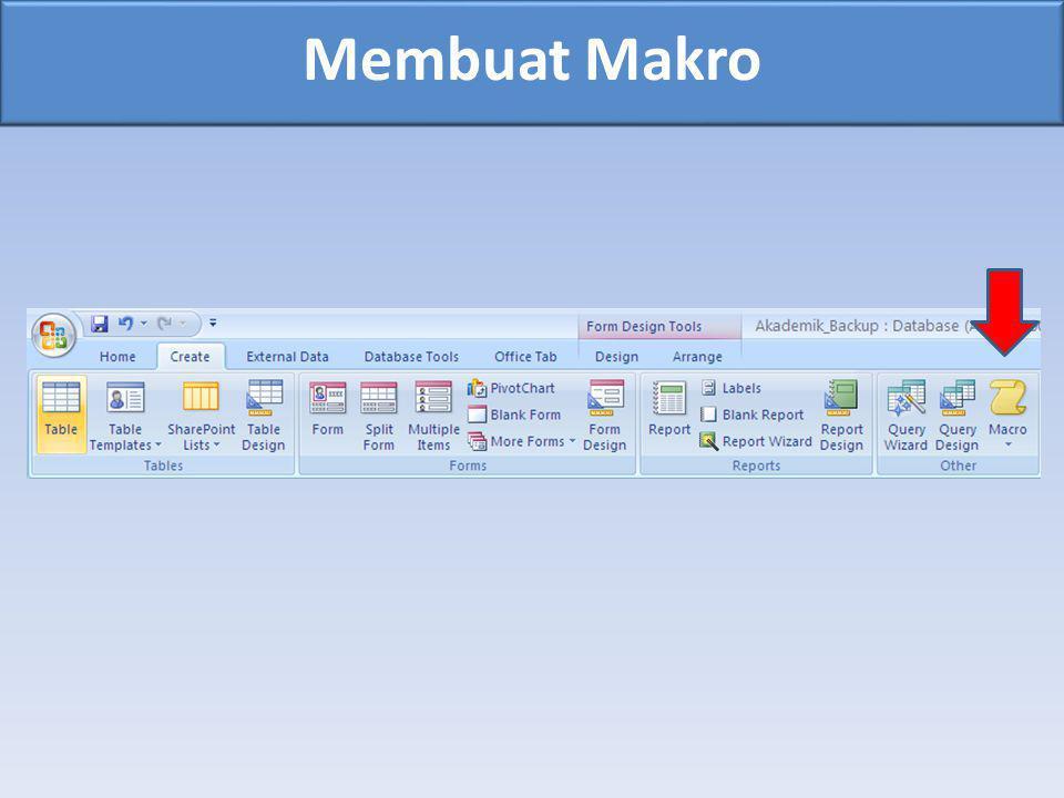 Membuat Makro