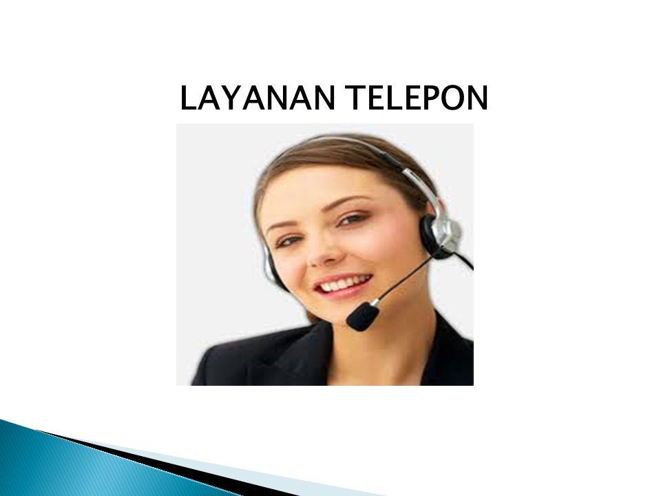 LAYANAN TELEPON