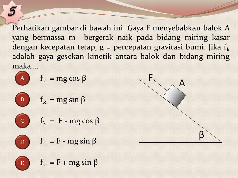 Perhatikan gambar berikut.Dua muatan titik –q dan –2q tolak menolak dengan gaya sebesar F.