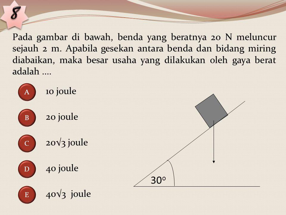 Perhatikan gambar di bawah ini! Empat gaya F 1, F 2, F 3, dan F 4 bekerja pada titik A, B. C, dan D sebuah bujur sangkar yang sisinya 1 m. Besar gaya
