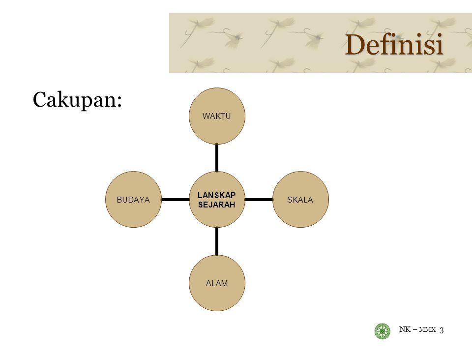 NK – MMX 3 Definisi Cakupan: