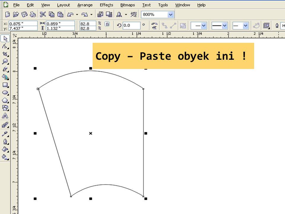 Copy – Paste obyek ini !