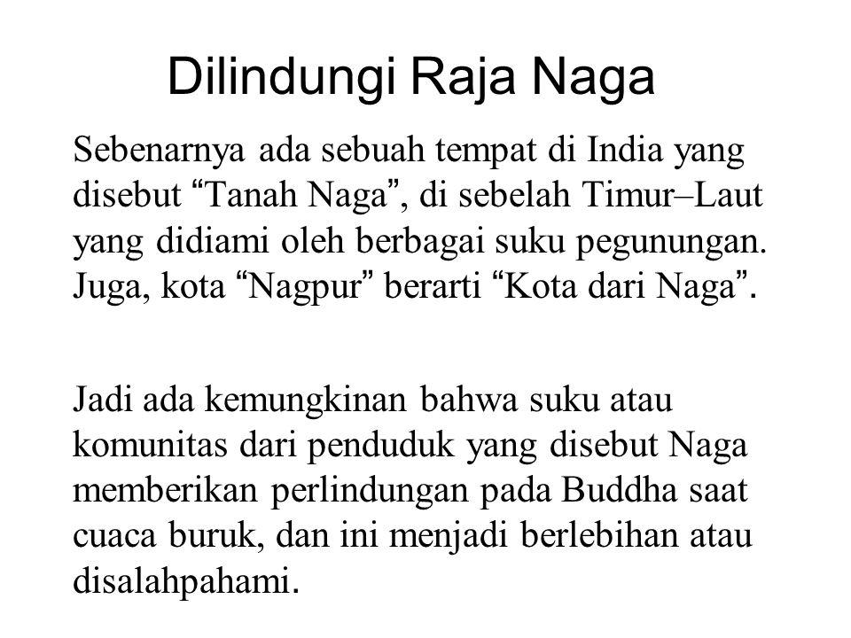 "Dilindungi Raja Naga Sebenarnya ada sebuah tempat di India yang disebut "" Tanah Naga "", di sebelah Timur–Laut yang didiami oleh berbagai suku pegunung"