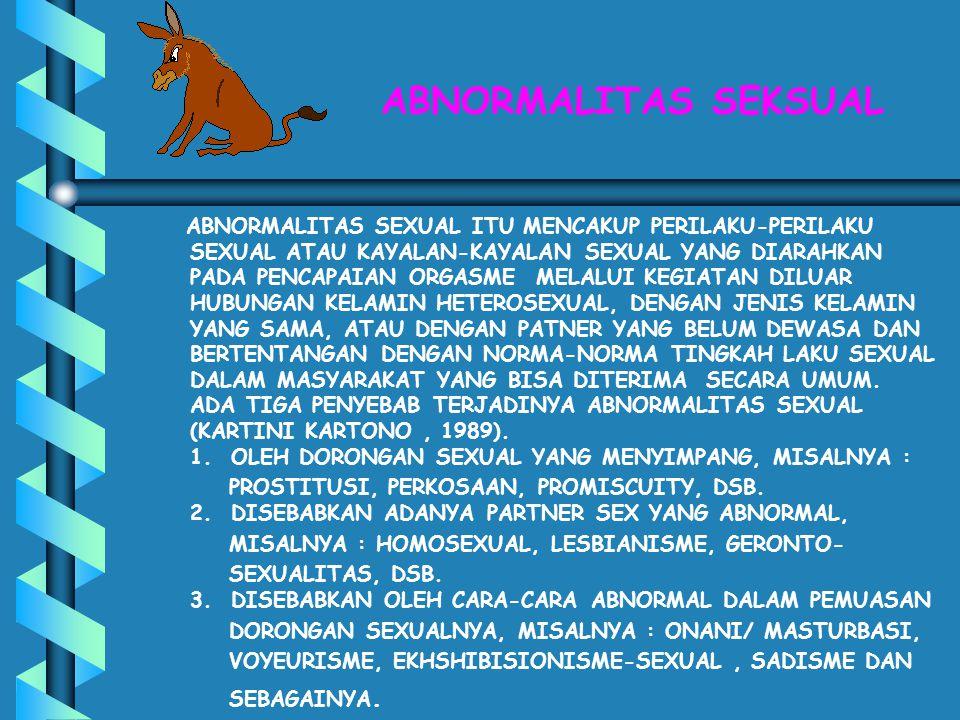 KEJAHATAN DAN PELANGGARAN SEKSUAL FREE SEX TELAH MENYEBABKAN TERJADINYA KASUS PELANGGARAN DAN KEJAHATAN SEKSUAL YANG MENGERIKAN YAITU PERKOSAAN - DI INDONESIA RATA-RATA SETIAP HARI TERJADI SEKITAR 5 - 6 PEMERKOSAAN TERHADAP WANITA, DAN TERNYATA SERING MENIMPA ANAK-ANAK DIBAWAH UMUR - HASIL PENELITIAN PSW UNDIP DAN YAYASAN SETARA TAHUN 1999 MEMPERLIHATKAN BAHWA SETIAP TAHUNNYA TERJADI PERKOSAAN TERHADAP 900 - 1200 ANAK, SEKITAR 60% MENIMPA ANAK DIBAWAH 15 TAHUN WALAUPUN BELUM ADA PENELITIAN YANG MENDUKUNG TENTANG ADA TIDAKNYA PENGARUH FREE SEX TERHADAP KEJAHATAN SEKSUAL, NAMUN KEDUANNYA SANGAT BERHUBUNGAN SATU SAMA LAINNYA