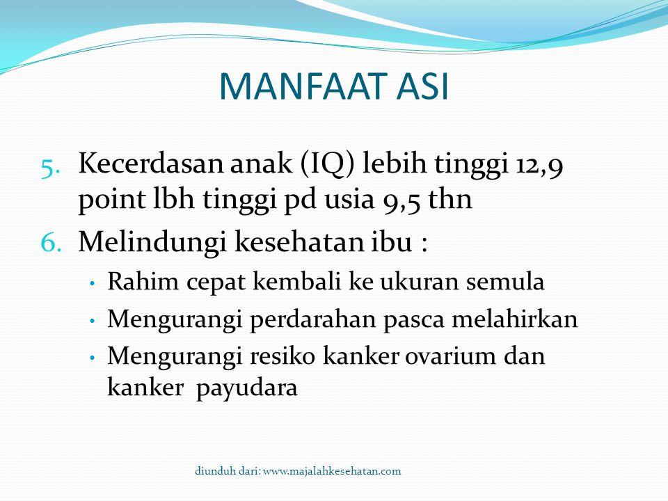 MANFAAT ASI 1.