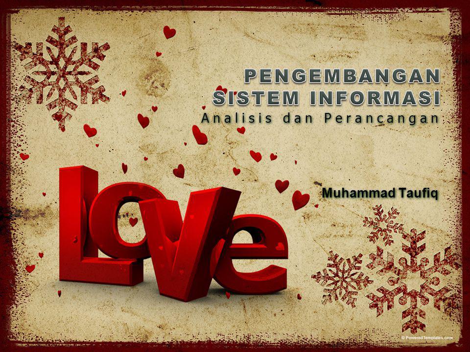 Analisis dan Perancangan Muhammad Taufiq