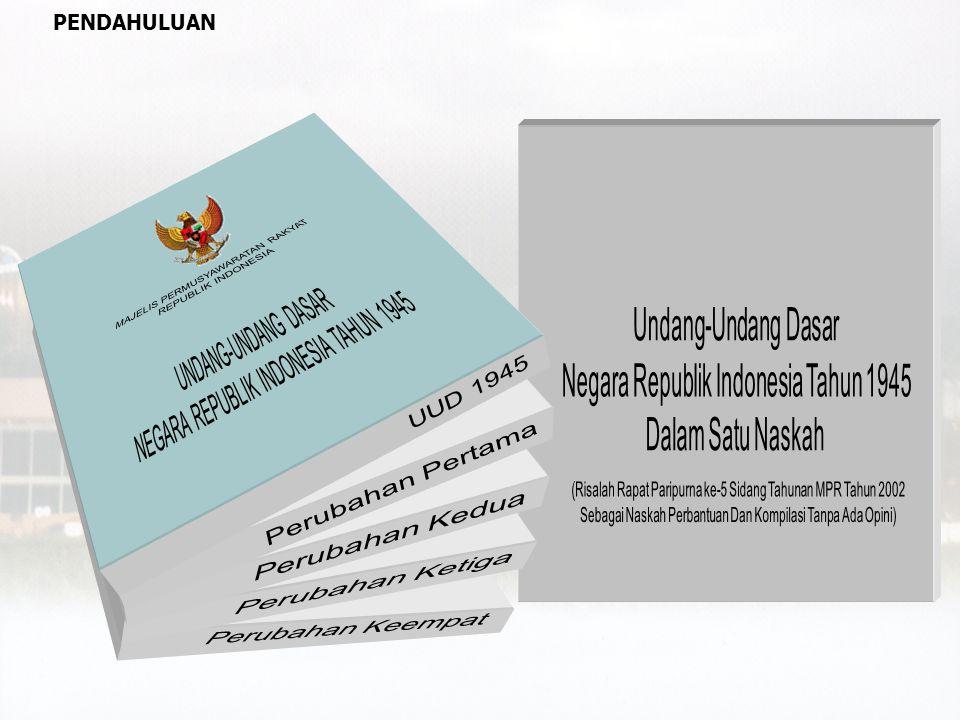 calon yang disetujui DPR Presiden KY BAB IX.