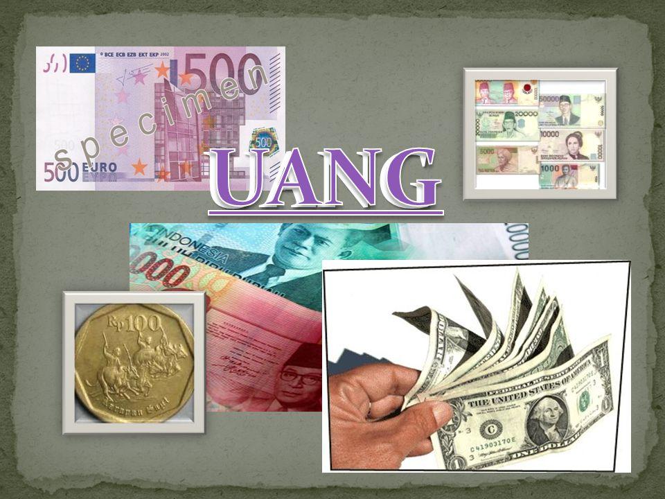 Harga baju Rp.100.000,00. Dalam hal ini uang berfungsi sebagai...