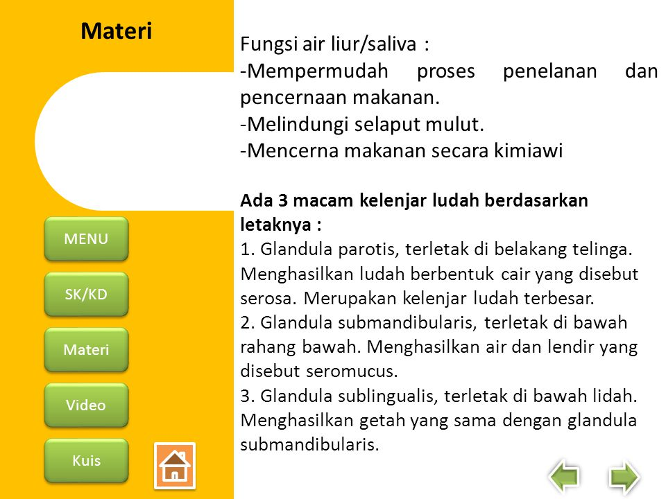 SK/KD Materi Video Kuis MENU II.