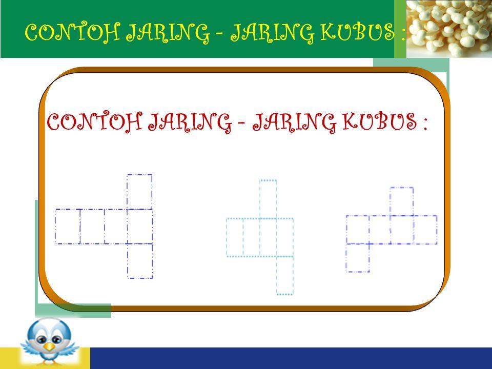 LOGO CONTOH JARING - JARING KUBUS :