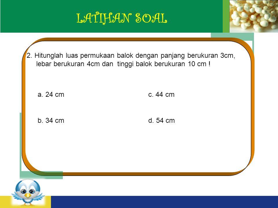 LOGO LATIHAN SOAL 2.