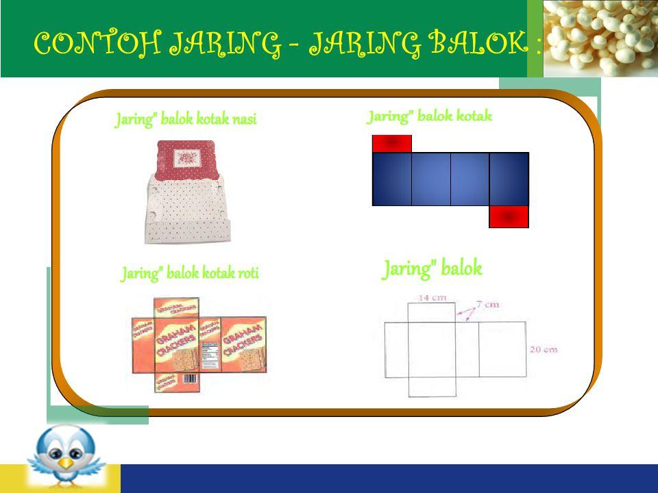 LOGO CONTOH JARING - JARING BALOK :