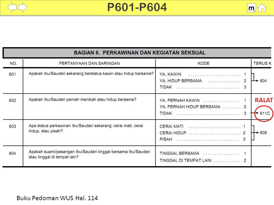 100% SDKI 2012 P605-P609 m Buku Pedoman WUS Hal. 114-115