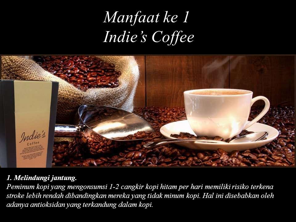 1. Melindungi jantung. Peminum kopi yang mengonsumsi 1-2 cangkir kopi hitam per hari memiliki risiko terkena stroke lebih rendah dibandingkan mereka y