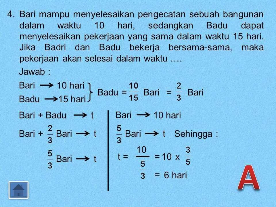 33.Penyelesaian sistem persamaan 2x + y = -3 dan -3x – 2y = 2 adalah....